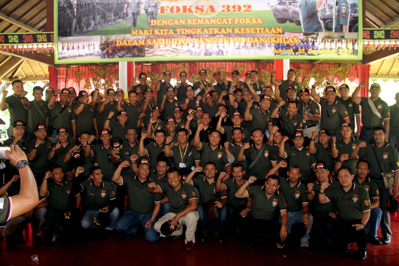Reuni Akbar foksa Nusantara ke - 5 ke-5 Tahun 2016 di Anjungan Sulawesi Tenggara, Taman Mini Indones